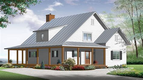 Small Farmhouse House Plans | modern farmhouse house plan contemporary farmhouse floor