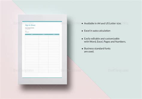 sign templates free downloads volunteer sign in sheet templates 14 free pdf documents