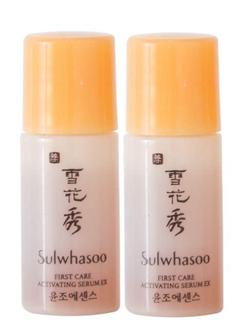 Sulwhasoo Care Activating Serum 4ml X 10ea sulwhasoo care serum 4ml x 2 free sulwhasoo sachet pack hermo shop malaysia