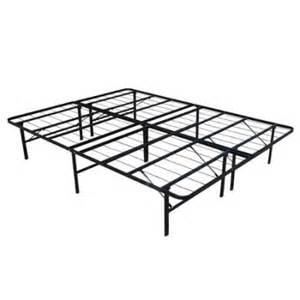 Homegear platform metal bed frame mattress foundation queen