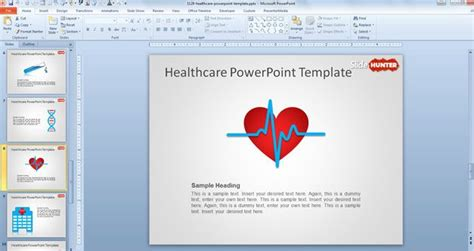 Free Healthcare Powerpoint Template Healthcare Powerpoint Template