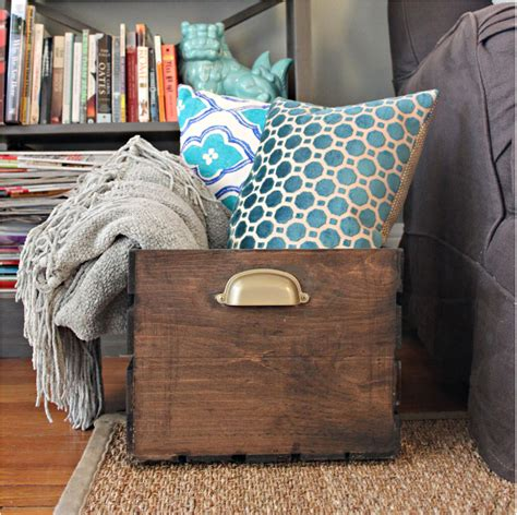 how to store pillows unique ways to repurpose wooden crates