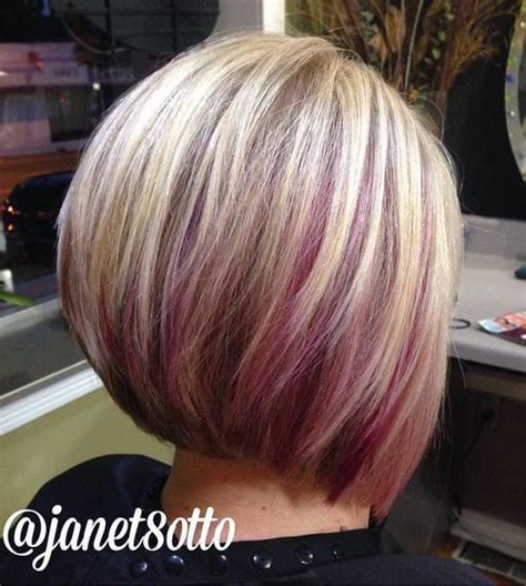 dirty blonde bob hairstyle with peek a boo highlights 25 best ideas about pink peekaboo hair on pinterest
