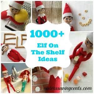 1000 on the shelf ideas