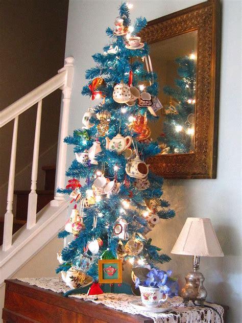 tea  friends   tea themed christmas tree