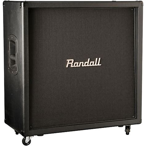 Randall Bass Cabinet by Randall Usm Rc412 260w 4x12 Bass Speaker Cabinet Angled