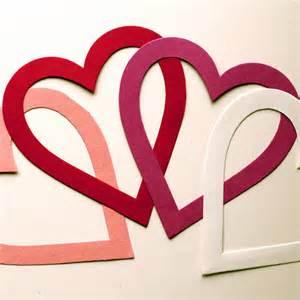 len selber basteln valentinsherz bastelanleitungen herzen zum valentinstag