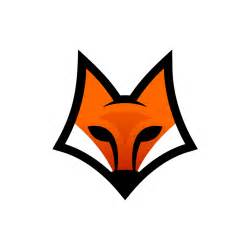 fox head art logo png 1634 free transparent png logos