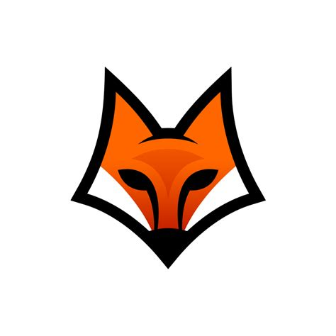 fox head art logo png 1634 free transparent png logos