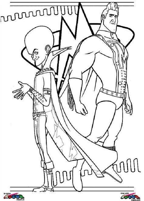 Megamind Movie Coloring Pages Coloring Pages Megamind Coloring Pages Printable