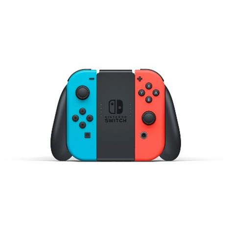 Nintendo Switch Neon Blue nintendo switch with neon blue and neon con target