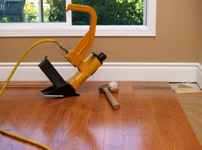 floor installers how to install hardwood floors nail