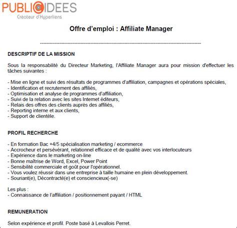 Exemple De Lettre Offre De Service Modele Annonce Offre D Emploi Document