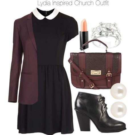 lydia martin inspired updo quot lydia inspired church outfit quot by veterization on polyvore
