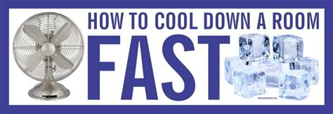 How To Cool A Room by How To Cool A Room As Fast As Possible