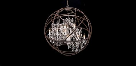 orb chandelier vintage inspired chandeliers orb timothy oulton