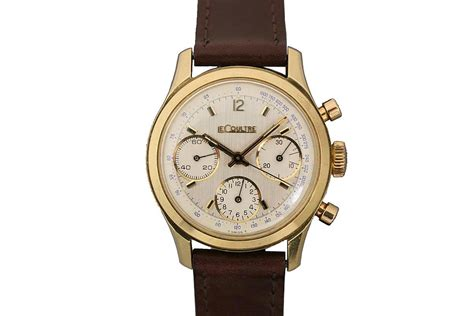 1960 lecoultre chronograph for sale mens vintage