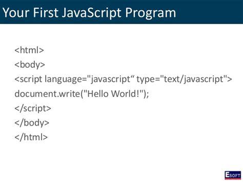 javascript program layout diwe programming with javascript