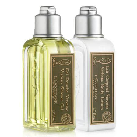 Loccitane Gel Shower Gel 50ml L Occitane Verbena Shower Gel Lotion Set 2 Items