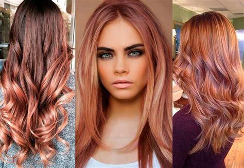 color cobrizo en el cabello balayage casta 241 o cobrizo