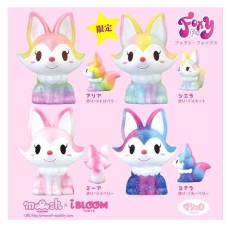 Squishy Licensed Ibloom Snowy Softjumbo Original ibloom fox squishies kawaii4girls