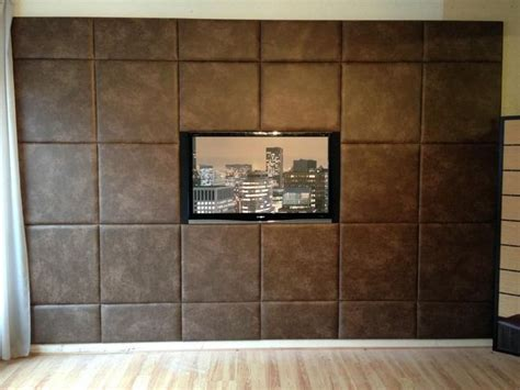 leather walls acoustic padded wall panels feature wall custom size