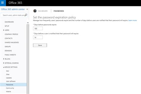 Office 365 Portal Password Office 365 Portal Password Never Expire 28 Images