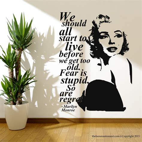 Marilyn Monroe Stickers For Walls marilyn monroe stickers for walls home design