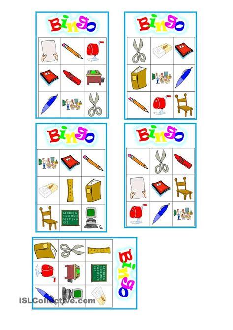 printable games for the classroom classroom bingo worksheet free esl printable worksheets