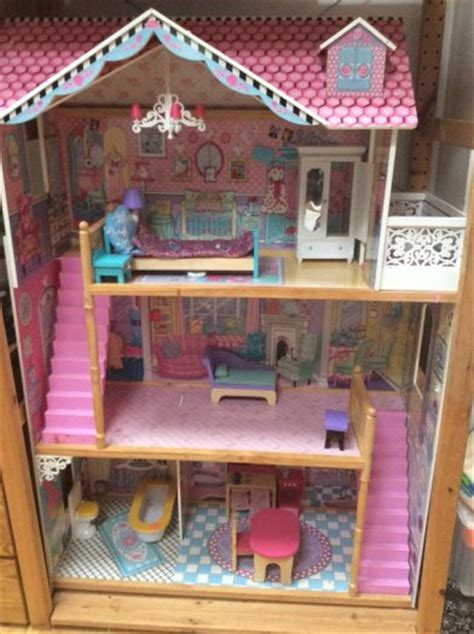 early learning center dolls house early learning centre large dolls house with furniture for