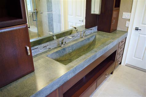Silestone Vanity Top Concrete Countertops That Make A Statement Platinum