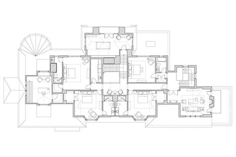 large estate house plans shingle style estate massey associates architects