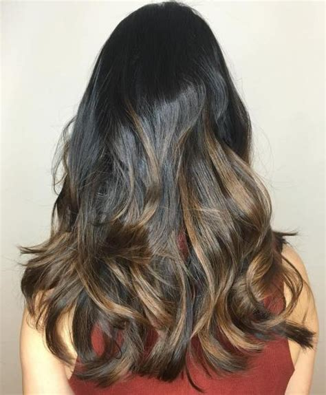diy highlights for dark brown hair 60 looks with caramel highlights on brown and dark brown hair