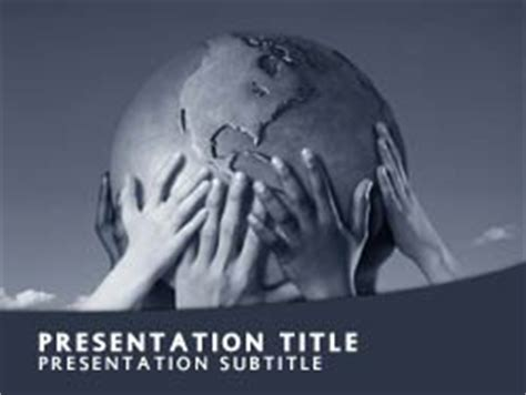 powerpoint themes culture royalty free global culture powerpoint template in blue