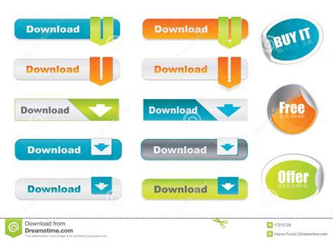 imagenes de botones web gratis vector los botones y las etiquetas engomadas de la