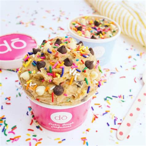 Do Cookies Make You Shop by Cookie Dough Shop In New York Serves Tasty Treats Made Of