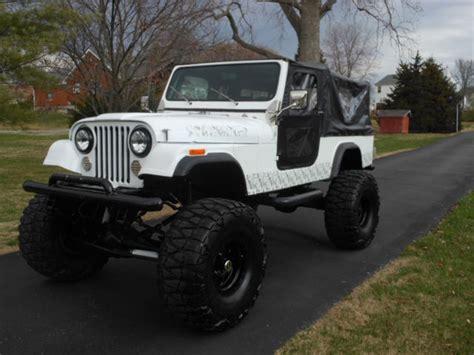 jeep scrambler lifted lifted jeep scrambler cj8 sbc automatic custom cage back