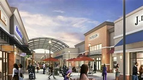 home design and outlet center plans for new outlet mall in romulus near metro airport