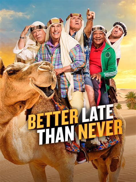 Globe Watcha Week Later Better Than Never by Better Late Than Never Season 2 Episode 2 Sweden