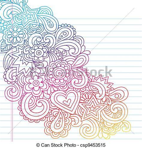 doodle flower vector illustration clipart vector of flowers outline vector doodle groovy