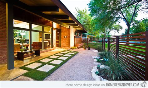 modern home landscaping 15 modern front yard landscape ideas home design lover