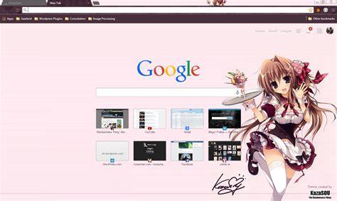hot girl themes google chrome google chrome theme maid girl 4 randomness thing