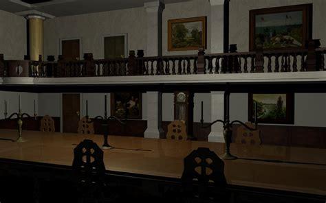 resident evil 1 dining room by norradd on deviantart