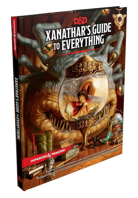 xanathars guide to everything dungeons dragons rpg xanathar s guide to everything english animegami store
