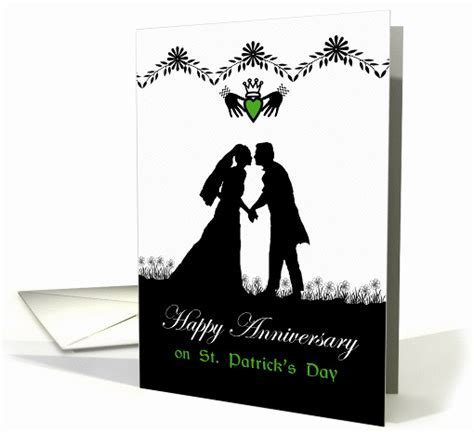 Happy Anniversary on St. Patrick's Day, Irish Couple