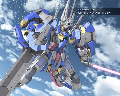 wallpaper gundam exia gundam avalanche exia gundam wallpaper 25015972 fanpop