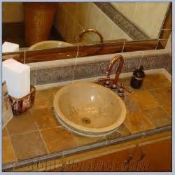 How To Tile Vanity Tops For Bathroom Pictures Of Tiled Bathroom Vanity Tops