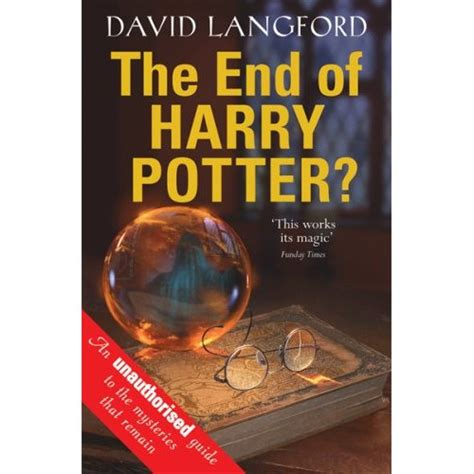 britain classic reprint books the end of harry potter by david langford