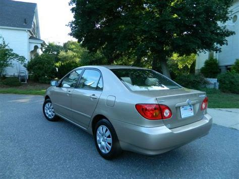 Toyota Corolla 2004 Mpg Sell Used 2004 Toyota Corolla Le 4dr Leather Grt