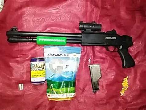 Mainan Pistol Gun Lumba Lumba cara memakai tembak mainan merek azzuri
